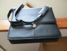 ATTACHE / MESSENGER/ LAP TOP MANBAG/ BUSINESS/ BRIEF CASE LEATHER LOOK ONE OWNER