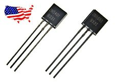 ' 2N5401 + 2N5551 (10 pairs) TO-92 BJT Pre Amp Transistor - from USA