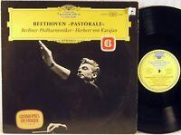 "DGG TULIP GERMANY 1962 Beethoven KARAJAN Symphony #6 ""PASTORALE""  SLPM 138 805"
