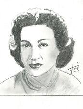 Portrait original de Jacqueline JOUBERT