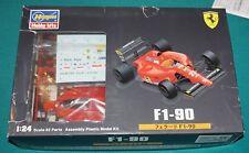Ferrari F1-90 F1 Hasegawa 1/24 Complete Unstarted With Studio 27 Photoetch.