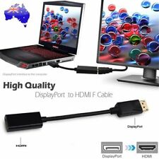 Displayport Display Port DP Male to HDMI Female Cable Adapter Full HD High Speed