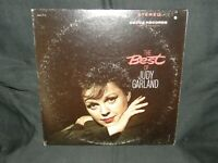 THE BEST OF JUDY GARLAND / DECCA RECORDS  DELUXE 2-RECORD SET