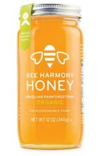New listing Bee Harmony Organic Honey - Usda approved (4 varieties available) 12 ounces