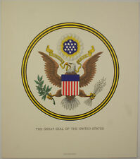 Bep Great Seal of the United States Souvenir Card