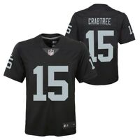 Michael Crabtree Oakland Raiders NFL Nike Youth Black  Limited Jersey