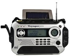 KAITO SILVER KA600L 5-WAY POWER EMERGENCY AM/FM/SW NOAA WEATHER ALERT RADIO!