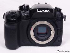 Panasonic Lumix DMC-GH4 Schwarz Kamera GH4 Body 16.0MP HÄNDLER OVP - Wie NEU