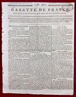 Insurrection de Toulouse 1800 18 Brumaire Redon Chouans Massimi Rome Bonaparte