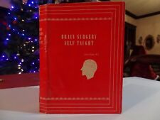BRAIN SURGERY SELF TAUGHT VINTAGE BOOK COVER DUST JACKET GAG GIFT 1934? RARE