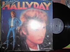 """JOHNNY HALLYDAY """"EN CASTELLANO""""  RARE LP  VENEZUELA  EX+++"""