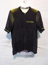 Louis Garneau Men's Course Superleggera 2 Cycling Jersey XXL Black/Bright Yellow