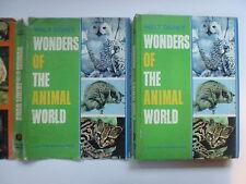 Walt Disney Wonders of the Animal World, Deluxe Golden Book, DJ, 1964