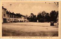 CPA Dordogne-Montpon sur l'Isle-Place du Monument (233318)