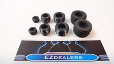 "Engine Block Intake Manifold Plug Kit 1/8"" 1/4"" 3/8"" 1/2"" NPT BLACK"