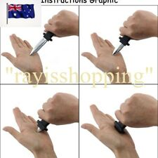 Fake Plastic Retractable Knife Joke Disapear Prank Magic Gag Funny Dummy Trick