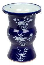 China 20. Jh. Kobalt -A Chinese Gu Shaped Cobalt Vase - Vaso Cinese Chinois Qing