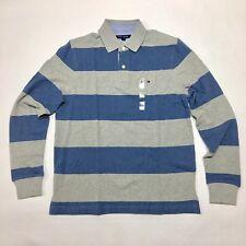 Tommy Hilfiger manga larga para hombre camiseta Polo talla S