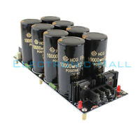 8*10000uF/125V Class A Power Supply Finished Board For Power Amplifier Amp