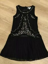 1920s Charleston Flapper Gatsby vintage party dress Girls age 8 years black