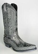 11850 Cowboystiefel Sendra Snowcer Negro Nieten Westernstiefel