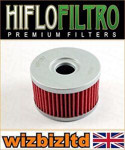 Suzuki XF650 Freewind 1997-2002 [ Hiflo Negro Recambio Filtro de Aceite] HF137