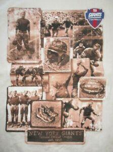 NEW YORK GIANTS National League League Established 1925 (MD) Shirt FRANK GIFFORD