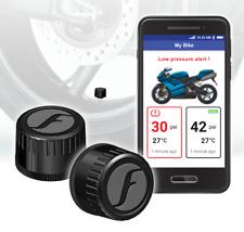 Fobo Bike 2 Wireless Motorcycle Tyre Pressure Monitoring TPMS Black Caps