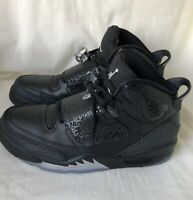 free shipping 53d80 b35a7 Air Jordan Son Of Mars Black Men s Sneakers Size 10