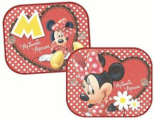 Disney Minnie Mouse side car sunshades (twin pack) (misaa010)