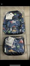 Pottery Barn mackenzie Backpack And Matching Dinosaur Lunchbox