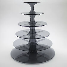 6 Tier Cupcake Stand in 5mm Acrylic (Professional)