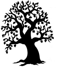 6 x Lrg Machine cut Tree silhouette shapes for card toppers displays craft
