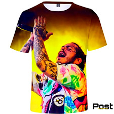 Post Malone T-Shirts Four Models Street style