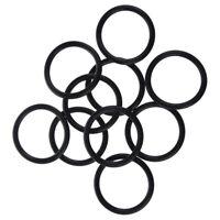 50mm x 5mm Nitrile Rubber O Ring NBR Oil Sealing Gasket 10 Pcs U3Z3