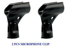 New 2 PCS Microphone mic Clip Holder Fits Shure SM58,SM57, Beta58/Beta58A