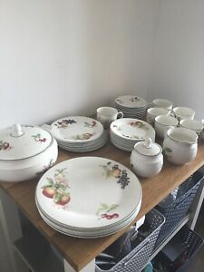 Marks & Spencers Ashberry Crockery Cup Saucer Jug Tureen Plates Assorted Price p