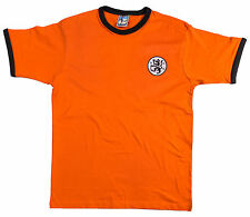 Retro Dundee United 1969 Football T Shirt New Sizes S-XXL Embroidered Logo