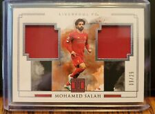 Panini Impeccable Soccer 19-20 Mohamed Salah Match Worn Patch ssp /25 Liverpool