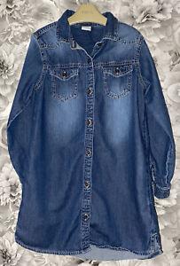 Girls Age 8 (7-8 Years) Next Denim Tunic Shirt Top