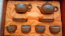 Yixing zisha 11 pieces clay tea set