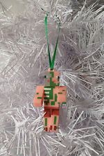 MINECRAFT INSPIRED~CUSTOM~ZOMBIE PIGMAN~CHRISTMAS TREE ORNAMENT~FIGURE~3""