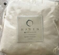 HOTEL COLLECTION HAVEN QUEEN BEDSKIRT IVORY NIOP MSRP $120