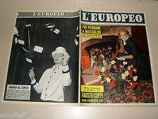 EUROPEO=1957/10=MARIA SCHELL=AVA GARDNER=VALENZA PO=FORTUNELLO HAPPY HOOLIGAN=