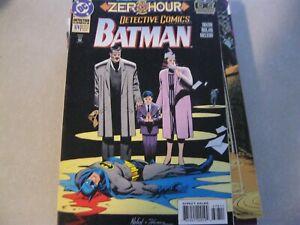Detective Comics (1937 1st Series) #678 ZERO HOUR by Chuck Dixon & Graham Nolan