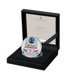 2 £ Pfund Großbritannien UK 2021 Music Legends - The Who PP