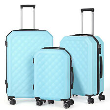 Suitcase Lightweight Luggage With Spinner Wheels, 3-Piece Set (20'/24'/28') US