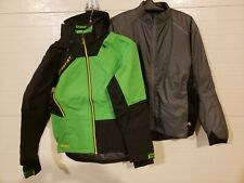 Motorfist Freeride and Revy Jacket combination, Medium, Black/Green