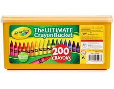 Crayola 200 Crayons The Ultimate Crayon Bucket New!!! Free Shipping