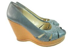 Collin Stuart Women's High Platform Peep Toe Shoes  - 9